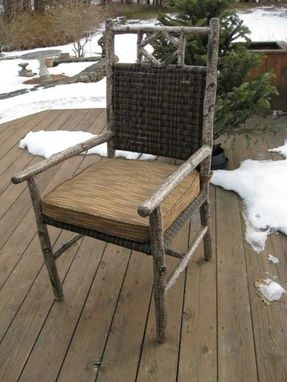 Custom Made All Weather Wicker Outdoor Chair