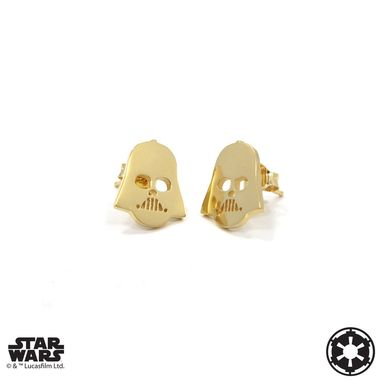 Custom Made Vader Stud Earrings - Precious Metals