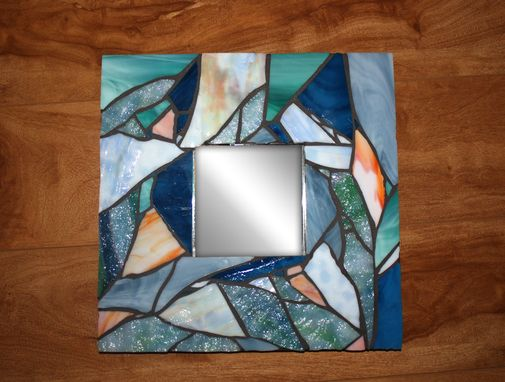 Custom Made Handmade Nautical Mosaic Mirror