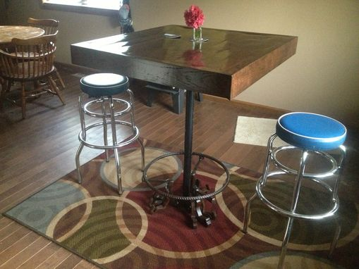 Custom Made Pub Table