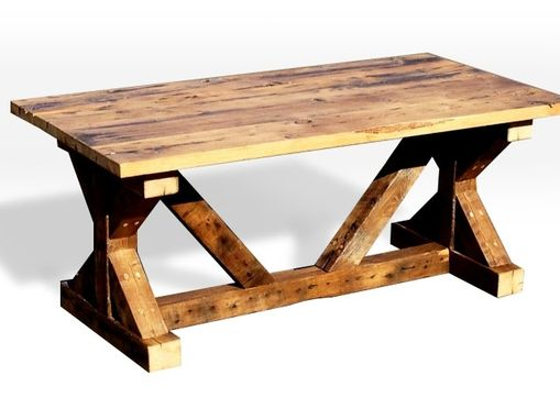 Custom Made Picnic Table And Dining Room Table