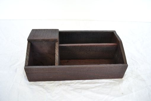 Custom Made Laurel - Wine Barrel Charging Station Organizer