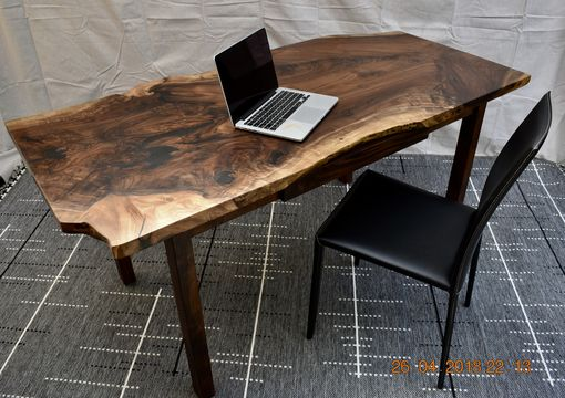 Custom Made Live Edsge Walnut Desk