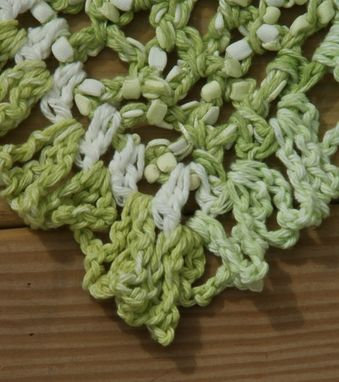Custom Made Spring Greens Shawl