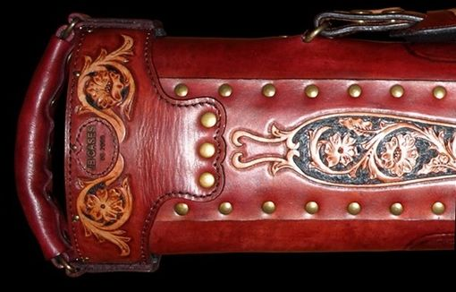 Custom Made Vero Leather Poolstick Case