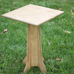 Strip Canoe Coffee Table