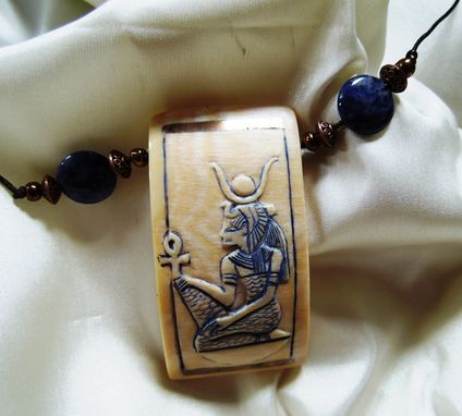 Custom Made Isis Ancient Egyptian Godess Mother Earth Pendant