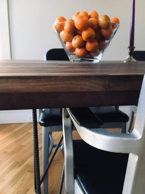 Custom Made Black Walnut Dinning Room Table