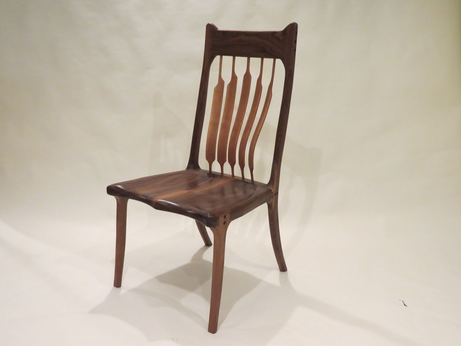 Buy a Custom High Back Dining Chair made to order from Lost Creek