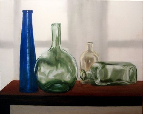Custom Made Still Life Art In Oil