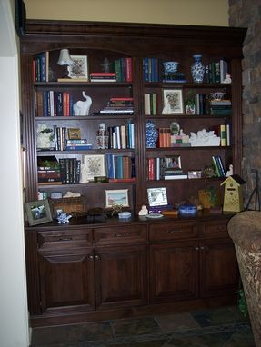 "Custom Made Great Room Wall Unit ""Fully Loaded"""