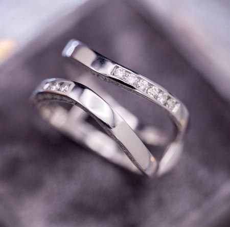 68560224830 ... each wedding ring we make is crafted to perfectly capture you.  chevron left. chevron right