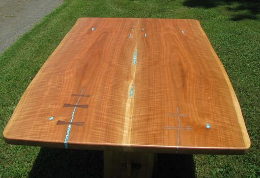 Custom Made Curly Cherry Dining Table