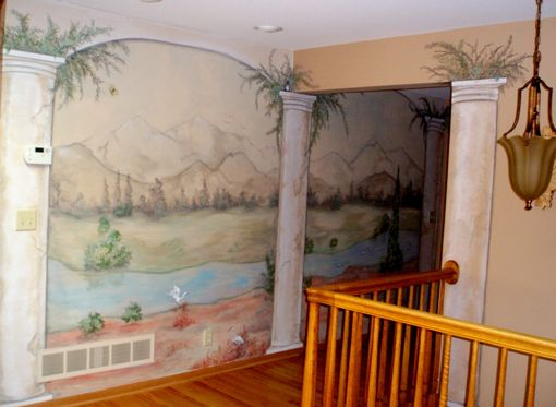Custom Made Bringing The Outside In - Mural