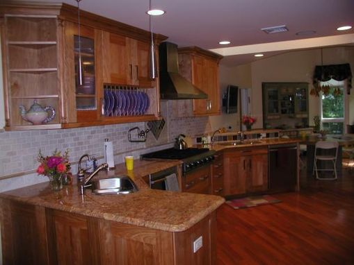 Custom Made Kitchen And Bath Cabinets
