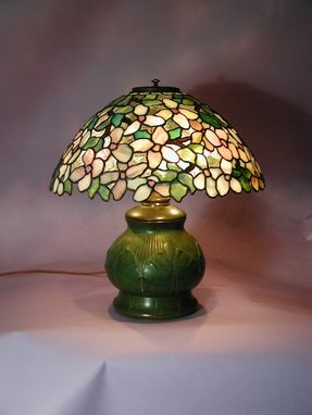 Custom Made Dogwood Shade On Tiffany Studios Base