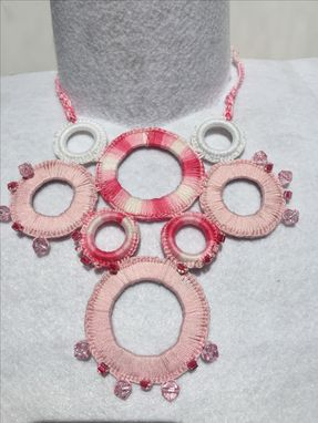Custom Made Handmade Crochet Necklace