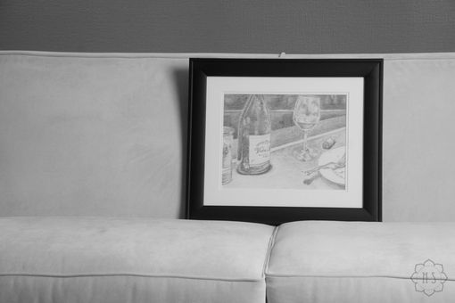 "Custom Made Original Realistic Pencil Drawing (14x11) ""Tableau"""