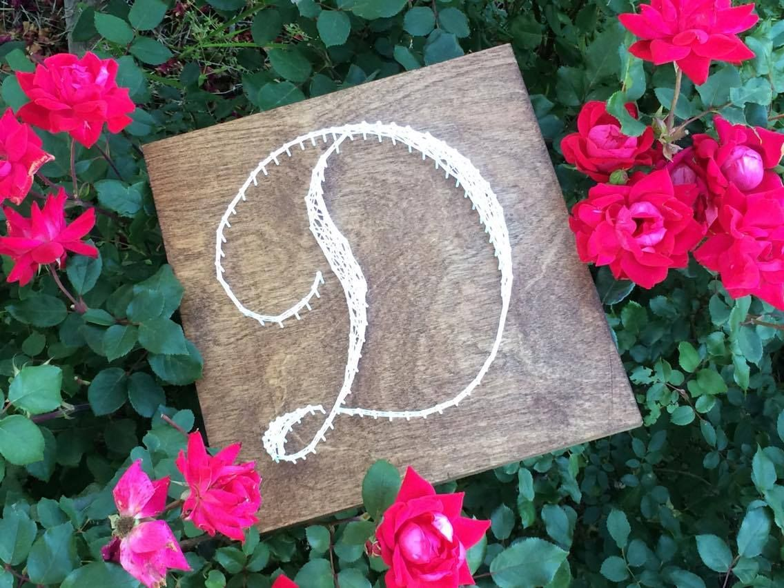3161f03d674 Buy a Hand Made Letter String Art