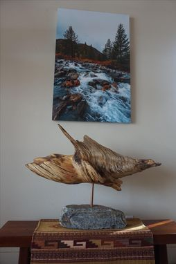 Custom Made River Tooth Rustic Wood Accent