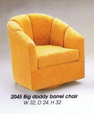 Custom Made Swivel Chair