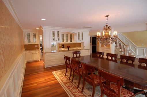 Custom Made Classic Butler's Station And Dining Room