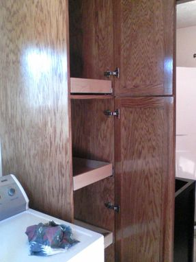 Custom Made Laundry Storage Cabinet