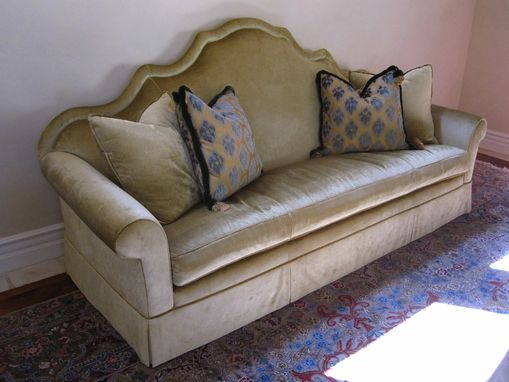 Custom Made Custom Shaped Sofa