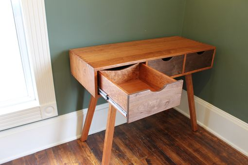 Custom Made Solid Wood Campaign Desk