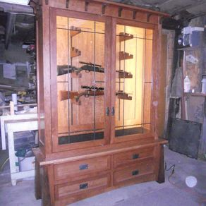 Custom Gun Cabinets, Gun Cases, Gun Racks, & Gun Storage ...
