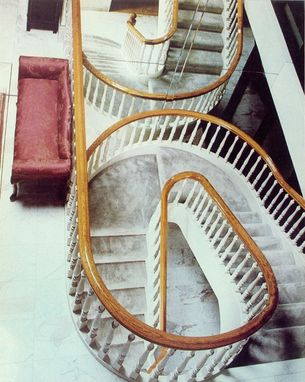 Custom Made A Classic Traditional Circular Staircase