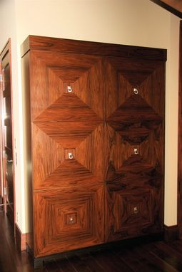 Custom Made Rosewood Armoire