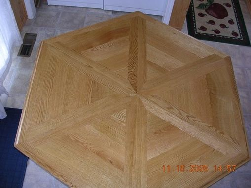 Custom Made 6 Sided Dining Table