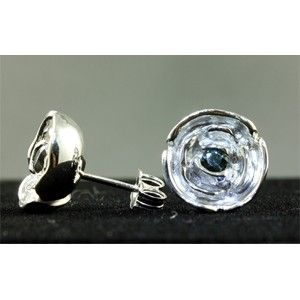 Custom Made Rose Garnet Studs