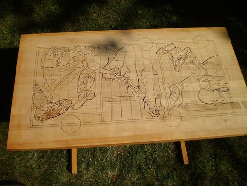 Custom Made Family Heirloom Table