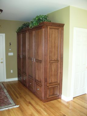 Custom Made Entry Hall Armoire
