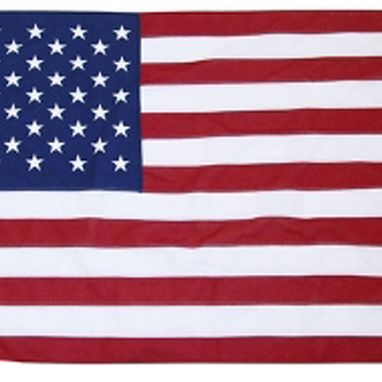 Custom Made American Flag 5ft X 9.5ft Cotton Best Brand By Valley Forge