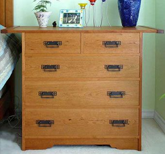Custom Made Elegant Cherry Dresser