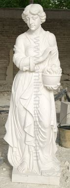 Custom Made Hand Carved Marble Statue - Four Season Sculptures