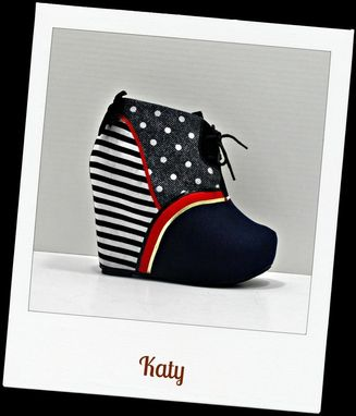 Custom Made Katy Wedge Bootie