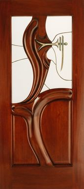 "Custom Made Custom Door ""Bronze Maier"""