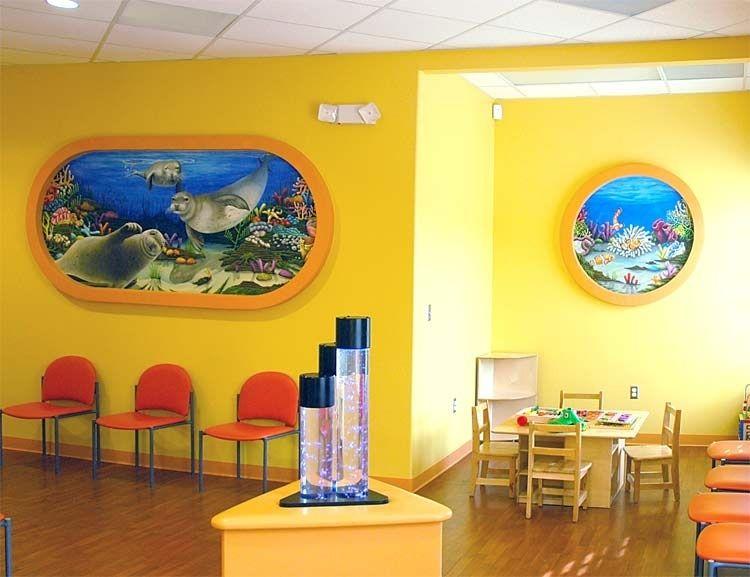 Custom Made Children\'s Dental Office In Sc. Mural by The Art ...
