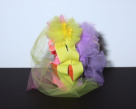 Custom Made Tulle Flower Pot