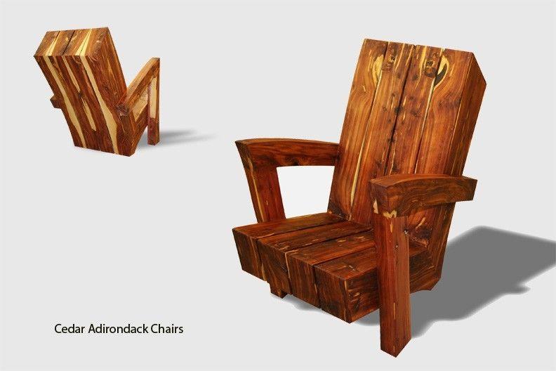 Adirondack Cedar Chairs hand made cedar adirondack chairspearson courtney creation