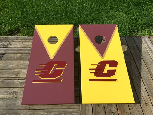 Custom Made College Cornhole Game Boards