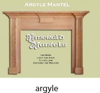 Custom Made Argyle, Ashfield And Belmont Fireplace Mantles
