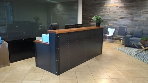 Custom Made Industrial Reception Desk