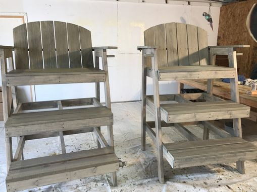Custom Made Tall Beach Love Seat