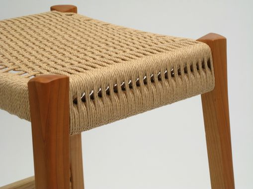 Custom Made Danish Cord Stool