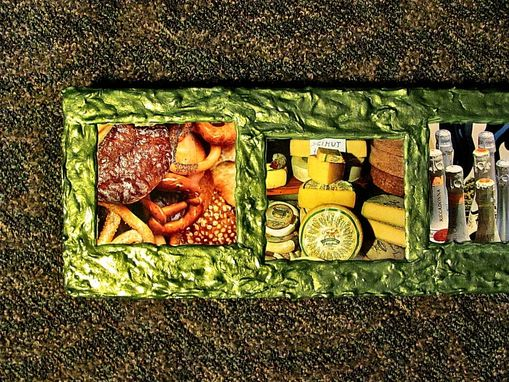 Custom Made Large Refrigerator Magnet/Wall Art Of Food Items
